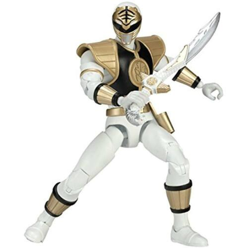 Action Figures Mighty Morphin Power Rangers 6.5-Inch White Legacy