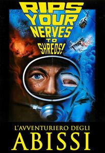 L'Avventuriero Degli Abissi DVD CULT MEDIA