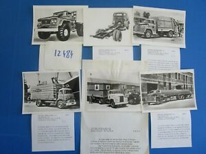 100% De Qualité N°12484 / Chrysler International : Camion Dodge 6 Photos Et Descriptif Correspondant En Couleur