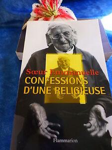 livre soeur emmanuelle =confessions d une religieuse