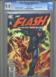 Flash-The-Fastest-Man-Alive-3-CGC-9-8-2006-1st-First-Griffin-Highest-Grade