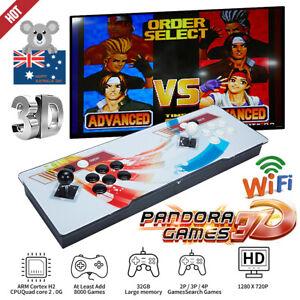 2021 Pandora Box 8000 3D Games In1 Home Stick Arcade Console Video HDMI WIFI New