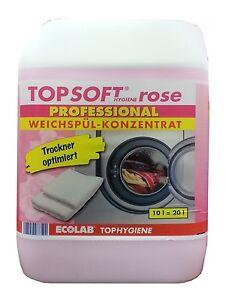Weichsp ler konzentrat 10 liter topsoft hygiene rose weichsp lkonzentrat neu ebay - Fenster putzen mit weichspuler ...
