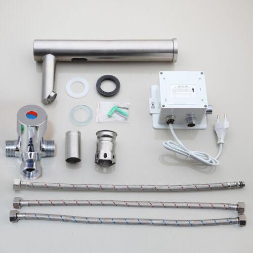 Automatic Sensor Hands Free Touchless Bathroom Kitchen Faucet Sink Mixer Tap