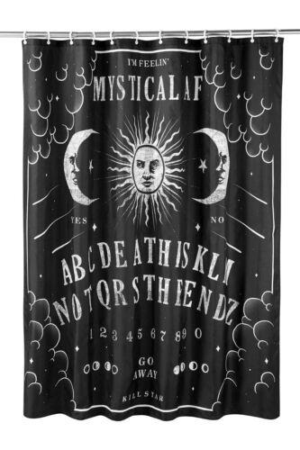 Killstar Not The End Sun Moon Ouija Board Goth Punk Shower Curtain K-MIS-U-2842