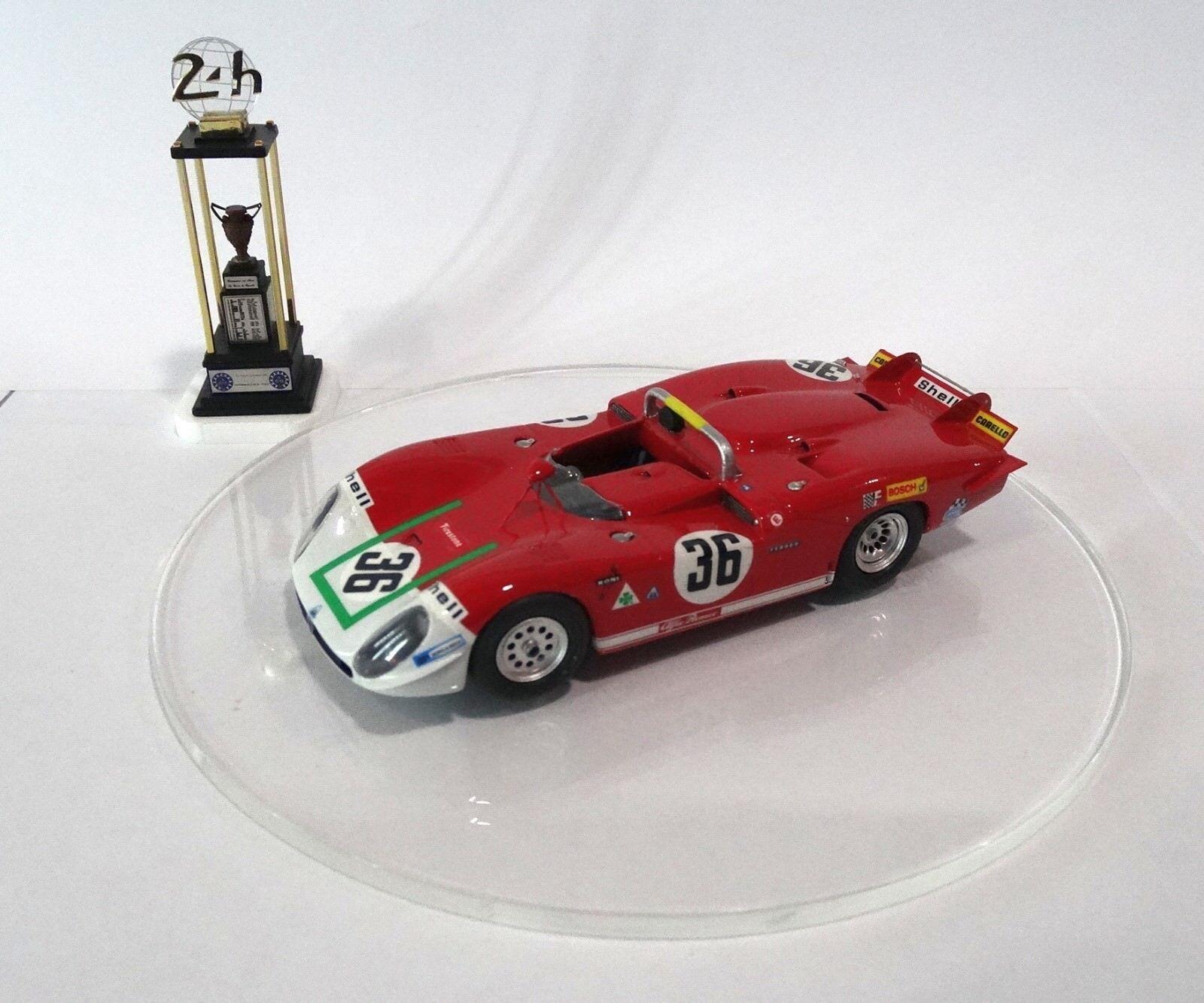 ALFA ROMEO 33-3  36  Le Mans 1970 Built Monté Kit 1/43 no spark TECNOMODEL