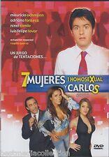SEALED - 7 Mujeres 1 Homosexucal y Carlos DVD Mauricio Ochmann BRAND NEW