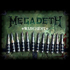 Warchest [Box] by Megadeth (CD, Oct-2007, 4 Discs, Capitol/EMI Records)