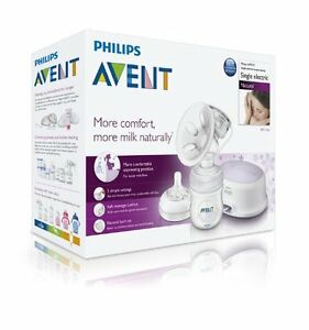 Philips-AVENT-Baby-NATURAL-COMFORT-Electric-Breast-Pump-SCF332-01-Electronic-NEW