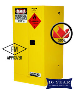 350L-Dangerous-Goods-Storage-Flammable-Liquid-Safety-Cabinet-10-Yr-Wty-FireResis