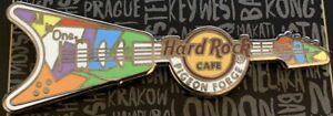 Hard-Rock-Cafe-PIGEON-FORGE-2020-GAY-PRIDE-PIN-034-All-Is-One-034-V-Guitar-New-LE-300