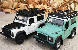 WELLY-1-24-Land-Rover-Defender-SUV-Alloy-Car-Model-Boys-Toys-Static-Display