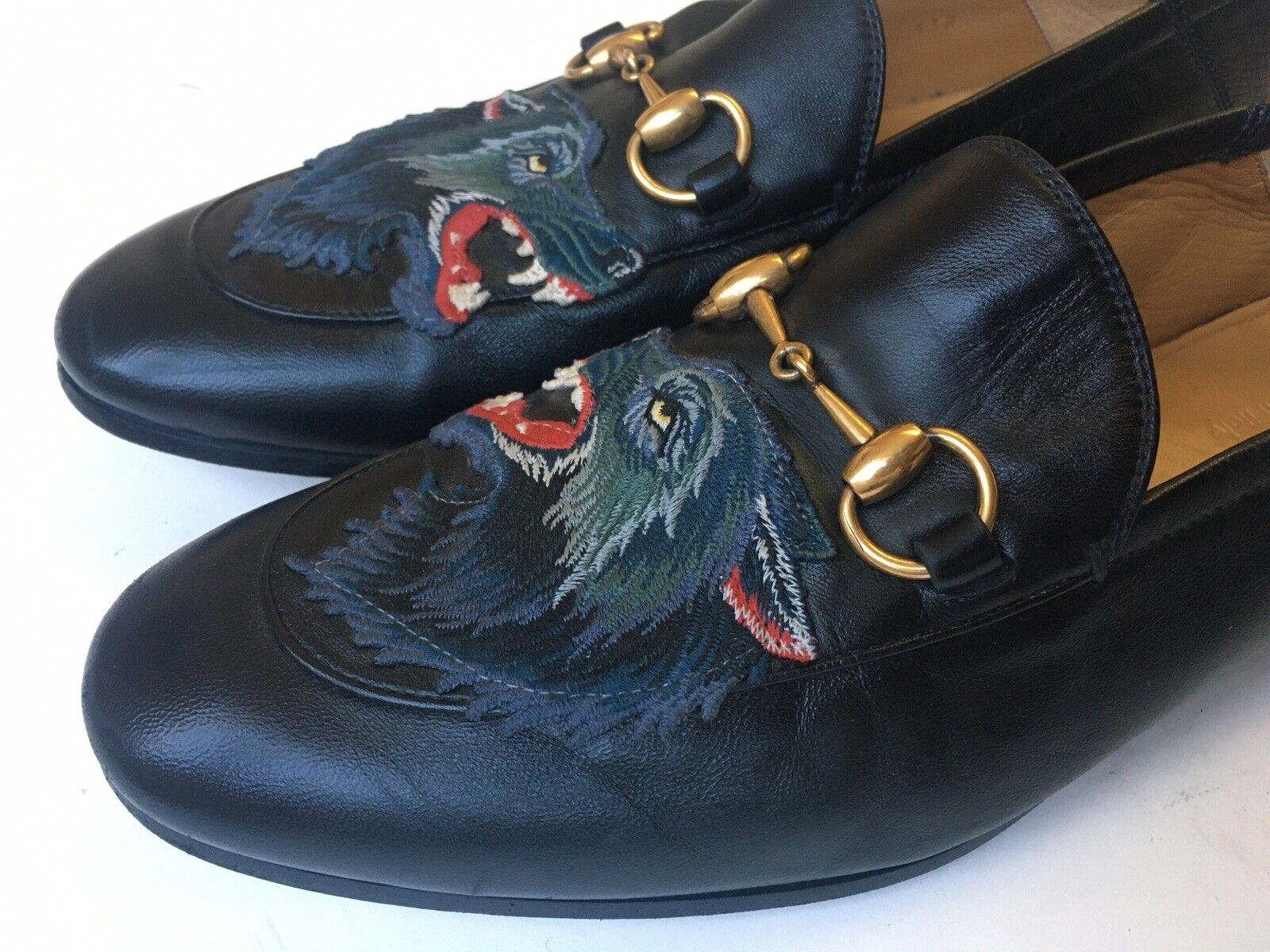 Gucci Brixton Angry Wolf Applique