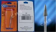 MEDICOOL ProBits Diamond B52 Cuticle Cone Bit Manicure Pedicure Nail Gel USA
