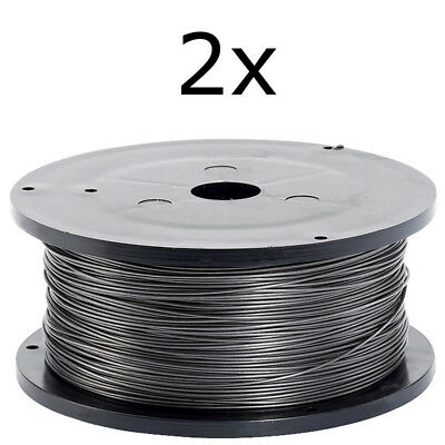 MIG Welding Wire MB15 Tips And Shrouds 2 x 0.8mm Gasless Flux Cored 0.45Kg