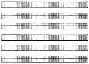 (4,35€/m) Faller 180413 H0, Schutzzaun, 133,2 cm lang, 6-teilig, Bausatz, NEU