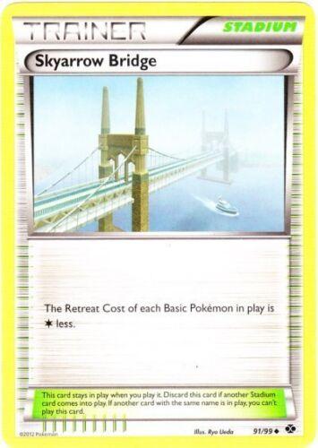 Next D 4x Skyarrow Bridge Uncommon 91//99 Reverse Holo NM-Mint Pokemon BW