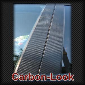 B-Saeulen-Carbon-GLANZEND-f-Mercedes-W164-W166-W202-W203-W204-W210-W211-W212-Limo