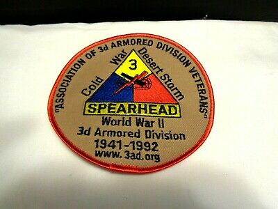 US ARMY 3d ARMORED DIVISION DESERT STORM PATCH