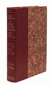 Boswell / Johnson: The Journal of a Tour of the Hebrides LIMITED EDITIONS CLUB