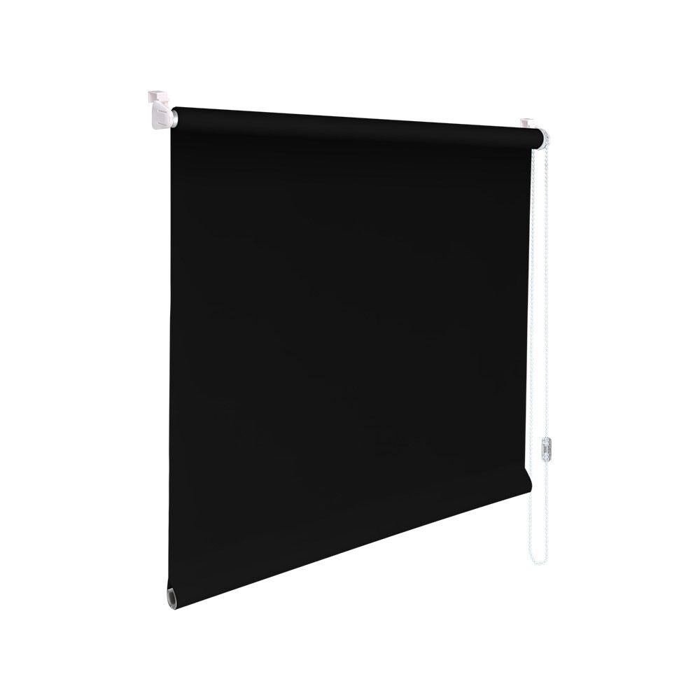 Minirollo Klemmfix Rollo Verdunkelungsrollo - - - Höhe 140 cm schwarz | Modern Und Elegant  b03883