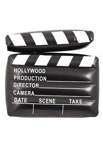 Aufblasbare Film Klappe Hollywood Deko Artikel Fasching Motto Party