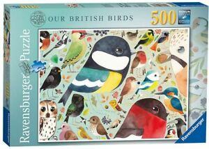 Ravensburger 500 piece jigsaw puzzle OUR BRITISH BIRDS