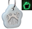 Glitter-Paw-Print-Pet-ID-Tags-Custom-Engraved-Dog-Cat-Tag-Personalized thumbnail 24