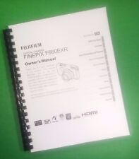 LASER PRINTED Fujifilm F660EXR F665EXR Camera FinePix Instruction Manual 146 Pgs