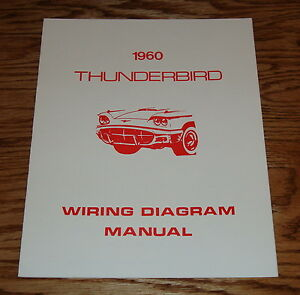 s l300 1960 ford thunderbird wiring diagram manual 60 ebay