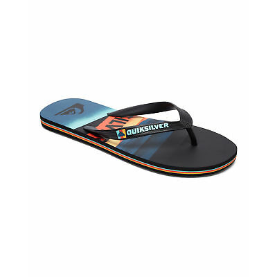 NEW QUIKSILVER™  Boys 2-7 Molokai Slash Logo Thongs Boys Children