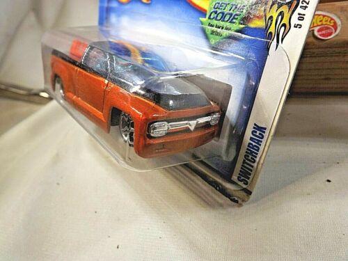 2003 Hot Wheels #17 First Editions 5//42 SWITCHBACK Orange//Black w//Chrome Pr5 Sp