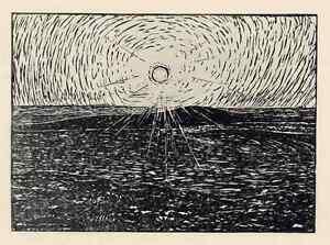 Wilhelm-LAAGE-SONNENUNTERGANG-in-der-HAIDE-1909