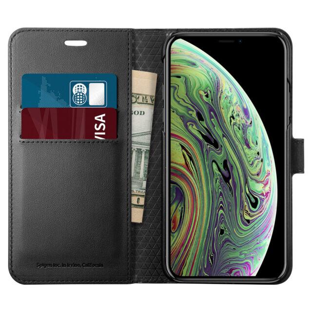 spiegen iphone xs max wallet case