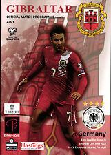 EM-Qualifikation 13.06.2015 Gibraltar - Deutschland