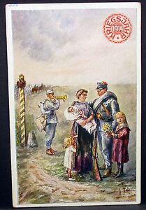 K-U-k-Patriotika-Ak-Austria-Kriegsjahr-1914-Wk-1-Postales-Lot-Y-261
