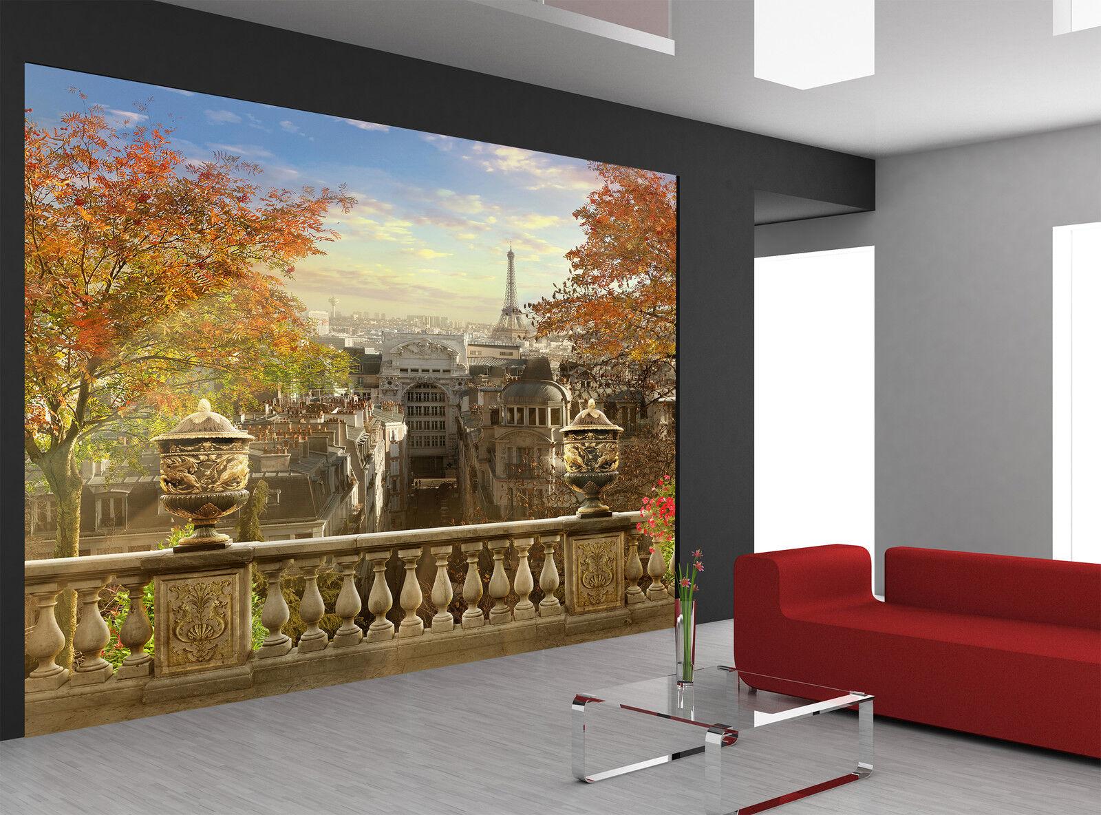 Paris -Montmartre Wall Mural Photo Wallpaper GIANT DECOR Paper Poster Free Paste