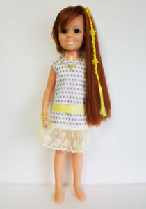 CRISSY-DOLL-CLOTHES-Dress-Yellow-Hair-Accessory-amp-Jewelry-Fashion-NO-DOLL-d4e