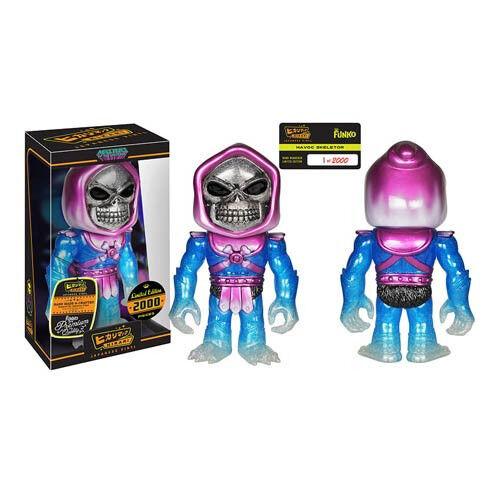 Masters of the Universe Universe Universe Havoc Skeletor Hikari Vinyl Figure Ready to Ship MOTU 1600e0