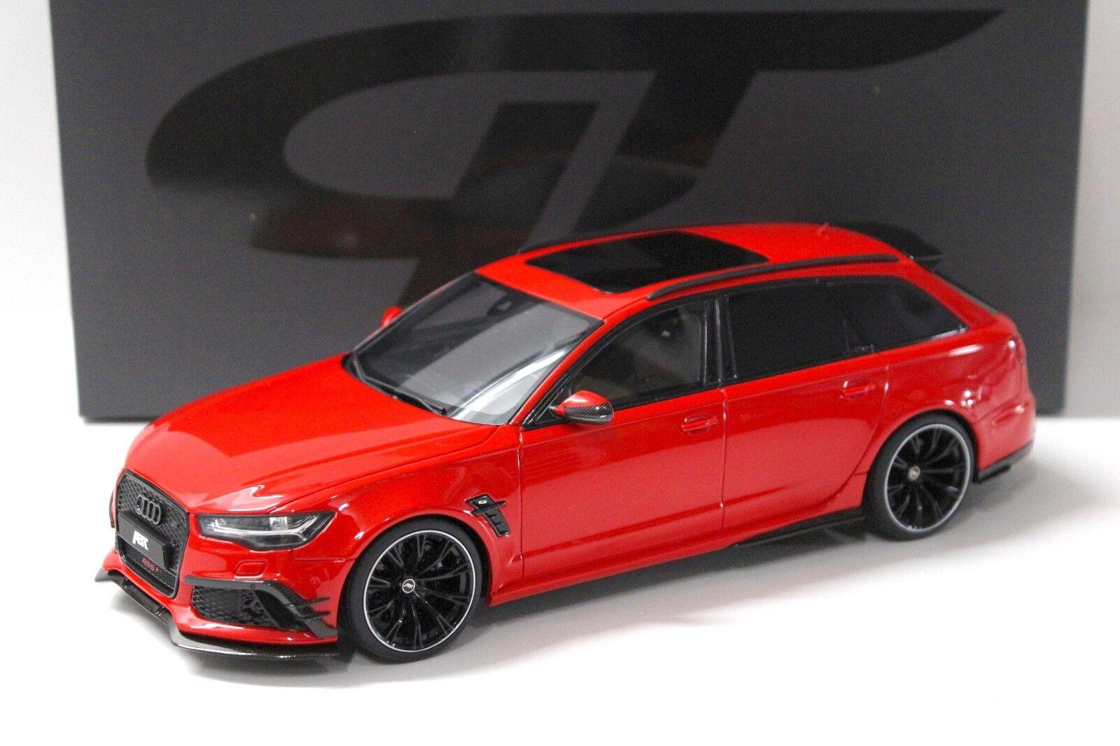 1 1 1 18 GT Spirit Audi ABT RS6+ Avant misano red NEW bei PREMIUM-MODELCARS 16b600