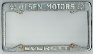Everett Washington Olsen Motors Volkswagen Vintage Vw