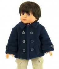 "18"" Doll Clothing Navy Blue Coat for Boy Doll"