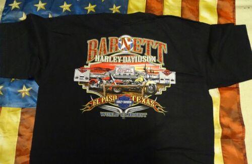Harley Davidson Serpent à manches courtes chemise noire L