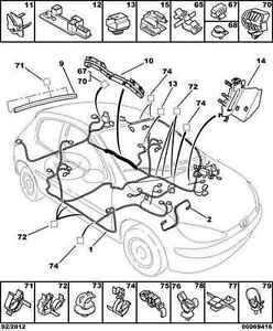Miraculous Genuine Peugeot 206 Cd Changer Harness Wiring 6513G9 Ebay Wiring Digital Resources Funapmognl