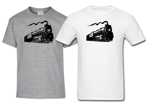 Steam Tank Engine Vintage Guage Train Spotting Railway Hobbies Transport T Shirt