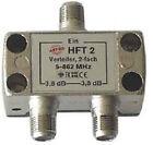 Astro Verteiler 2-fach 5-1000mhz HFT 2