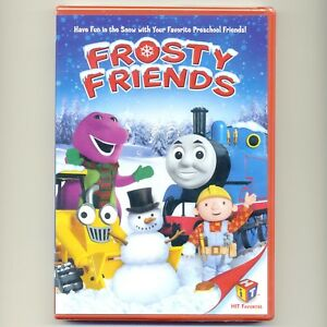 image is loading frosty friends new christmas dvd thomas train barney