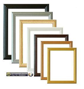 Picture-Frame-Photo-Frames-Poster-Size-Frame-Wooden-Black-Beech-Gold-Pine-Frame
