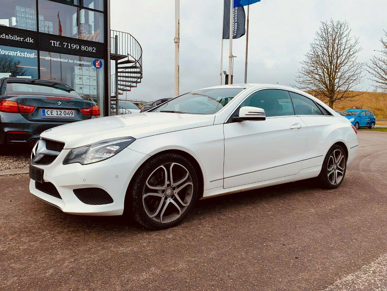 Mercedes E250 2,2 CDi Coupé aut. 2d