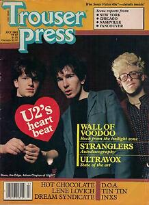 Image result for trouser press magazine covers